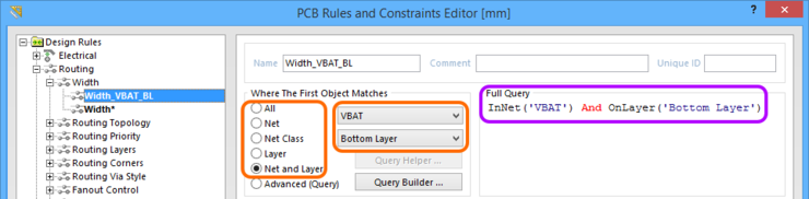 Quickly create a query using the simple scoping options.