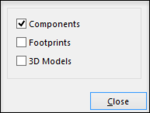 Configure what types of libraries should be displayed in the panel.