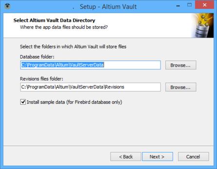 Determine install locations for vault data.