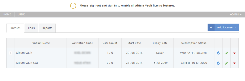 Acquired vault licensing - the fastest, and most streamlined method, by which to get your Altium Vault licensed.