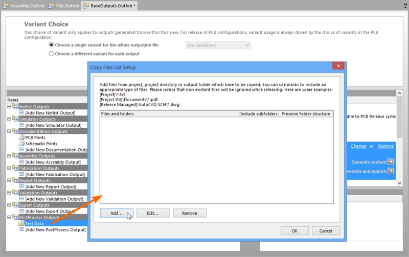 Add multiple file/folder references to the Copy Files list using wildcard macro filters.