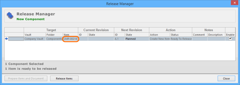 The system detects the clash in IDs, and resolves it by changing the ID when it comes to user admin admin releasing.