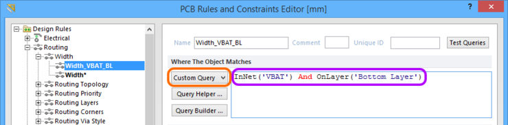 Use the Custom Query option to craft a more complex query expression for your scoping.