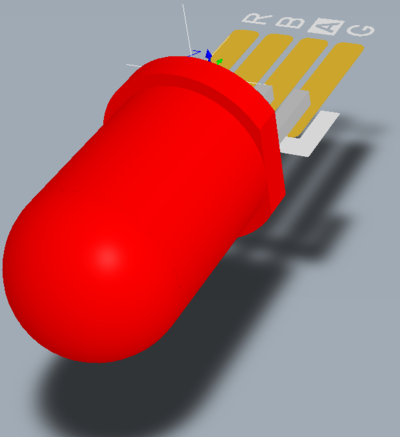 Altium Designer 3D Body objects can be used to create the component shape (left). If there is a suitable MCAD model available, it can be imported into a 3D Body object.