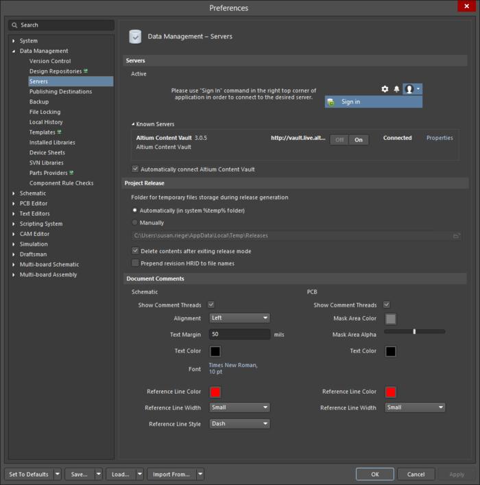 A Fresh User Interface Altium Designer 18 1 User Manual Documentation