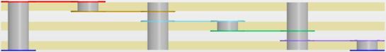 Использование скозного сверления для переходных отверстий, которые должны идти через один слой препрега.