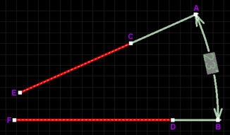 A selected Angular Dimension