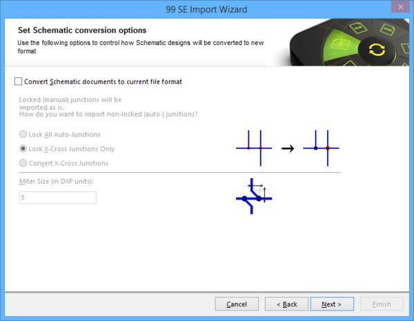 Import Wizard Online Documentation Altium Products Page Control Schematic Designs
