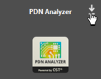 The extension icon, prior to the PDN Analyzer's installation.
