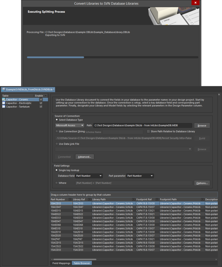 Resulting SVNDbLib file, after the conversion process has completed.