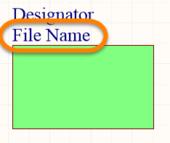 Sheet Symbol File Name