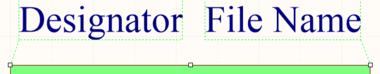 Selected Designator and Filename for a sheet symbol