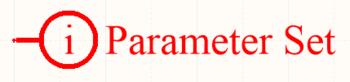 A Parameter Set directive.
