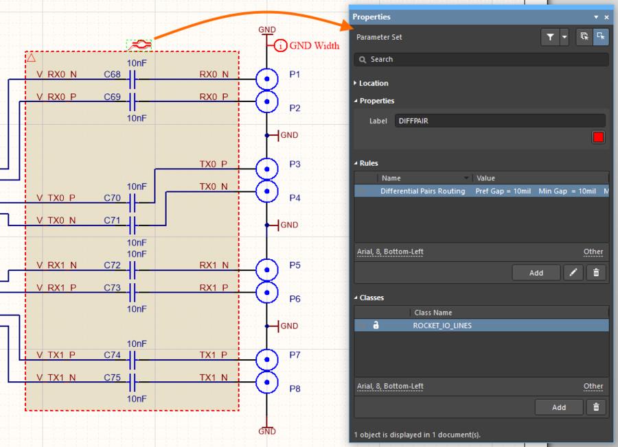 Parameter Set and Properties