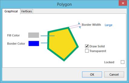 The Polygon dialog