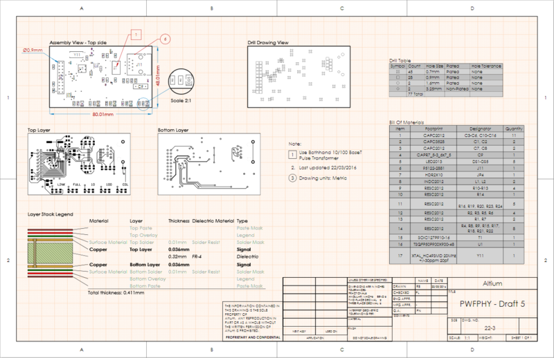 Place drawing views, objects and automated annotations on single or multi-page Draftsman documents.