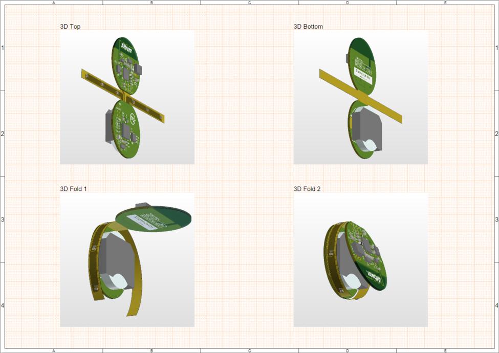 Пример Board Realistic View, где из редактора плат было взято множество слепков 3D-вида платы