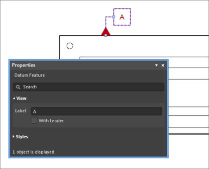Example, Datum feature