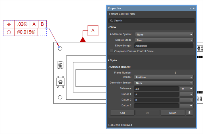 Example, Feature Control Frame