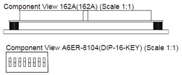 Два размещенных вида Component Views, которым задан соответственно вид сверху и вид сбоку.