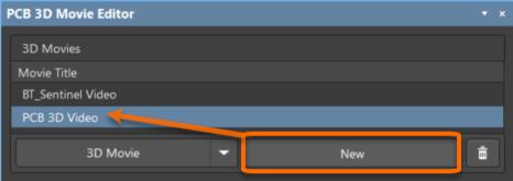 Пример добавления нового ролика и его переименование (наведите курсор мыши на изображение).
