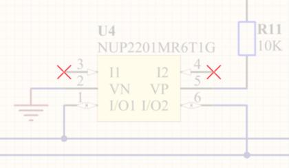 Используйте маркеры No ERC для подавления сообщений об ошибках/нарушениях определенного места на схеме.