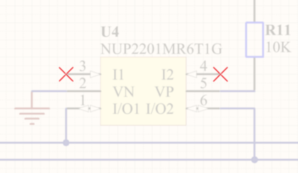 Use No ERC markers to suppress error/warning messages about a specific node in the circuit.