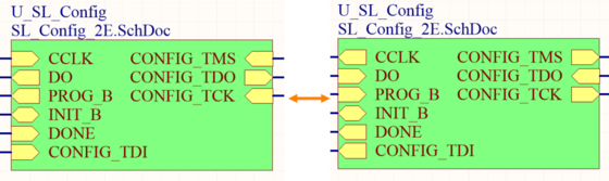 Example result of toggling sheet entry I/O