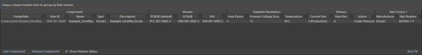 Определяйте компоненты с помощью редактора Component Editor в логичной и интуитивно понятной форме.