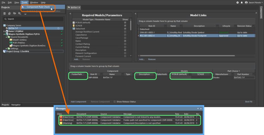 Обнаружение проблем в компоненте перед его выпуском/фиксацией на сервере.