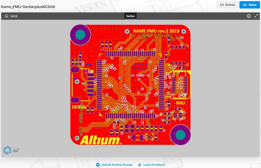 Пример производственных данных (CAM), выгруженных в Altium 365 Viewer.