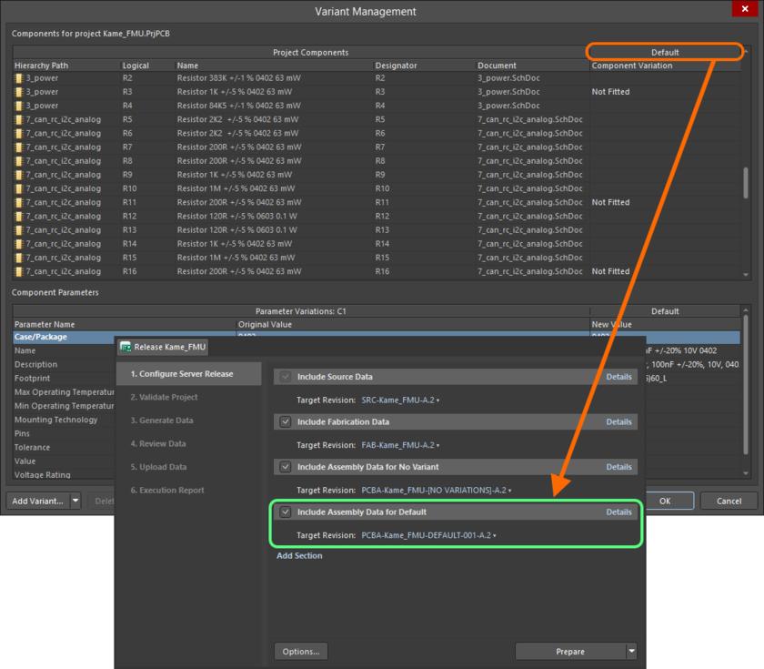Дополнительные наборы данных для сборки, сформированные на основе найденных вариантов исполнения проекта.