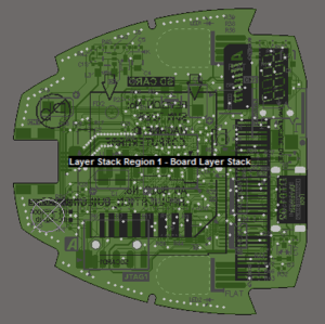 PCB editor Board Planning view mode