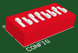 The component footprint defines the component mounting and connections on the PCBand can also include 3D  body objects to define the actual component.
