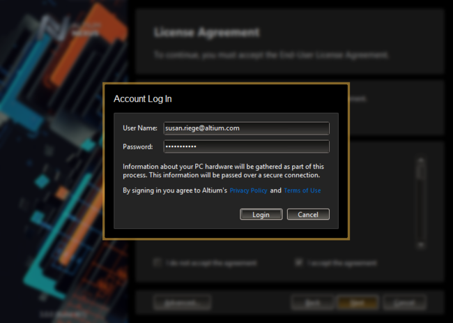 Specify the use of basic authentication using proxy settings, as part of advanced options for the install.