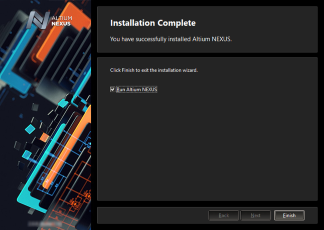 That's it, installation is complete!
