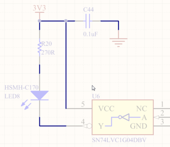Wires are used to create electrical connectivity in a schematic.