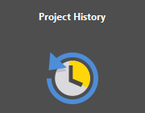 The Project History extension.