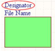 The Sheet Symbol Designator