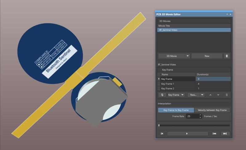 PCB 3D Movie Editor