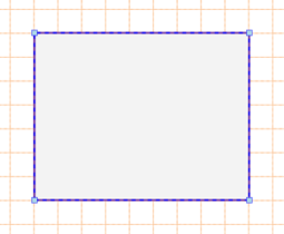 A selected Rectangle