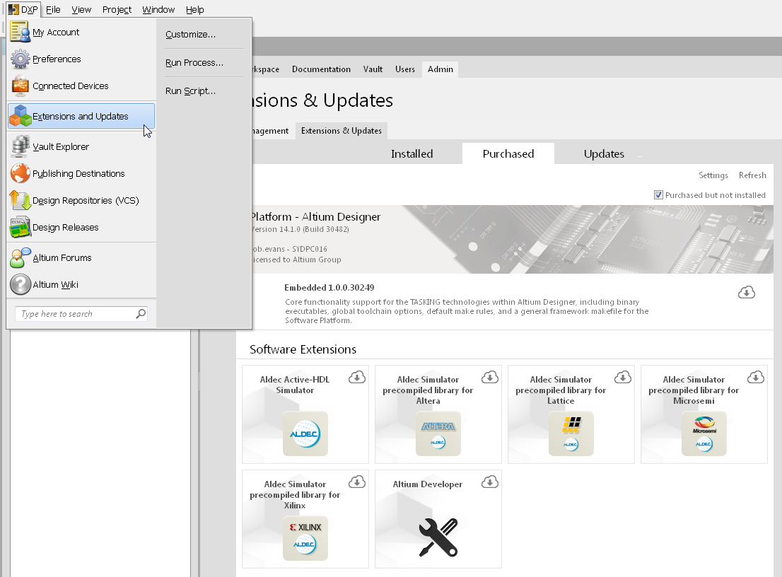 Altium DXP Developer | Altium DXP Developer User Manual | Documentation
