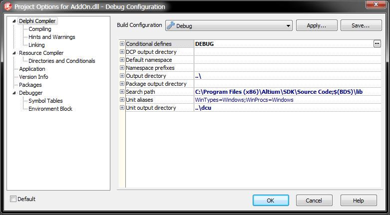 Getting started: Building a Delphi extension   Altium DXP