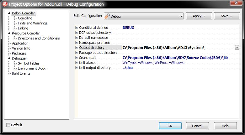 Getting started: Building a Delphi extension | Altium DXP