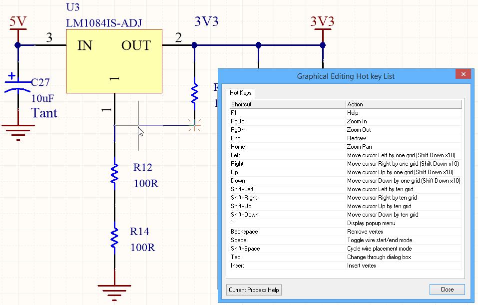 Shortcut Keys | Altium Designer 15 1 User Manual | Documentation
