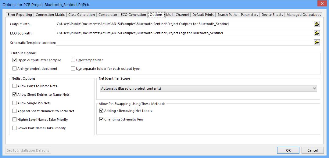 Project Management In Altium Designer Online Documentation For