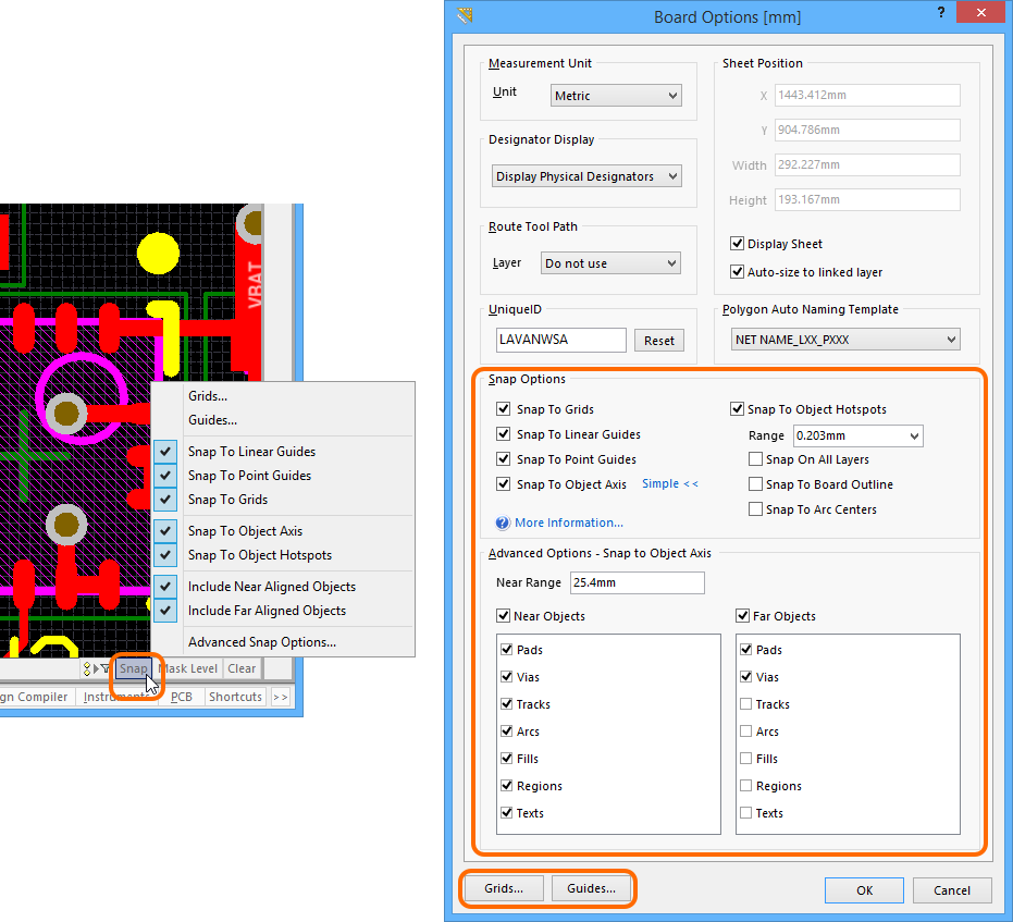 PCB Grids System | Altium Designer 15 1 User Manual | Documentation
