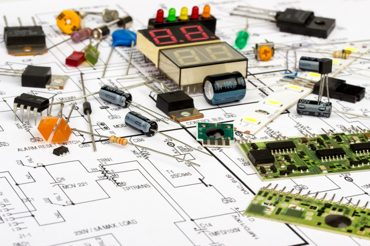 More About Schematics Online Documentation For Altium Products Simple Electrical Electronics Projects Library Finding And Placing The Components