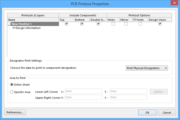 configuring pcb printouts online documentation for altium products