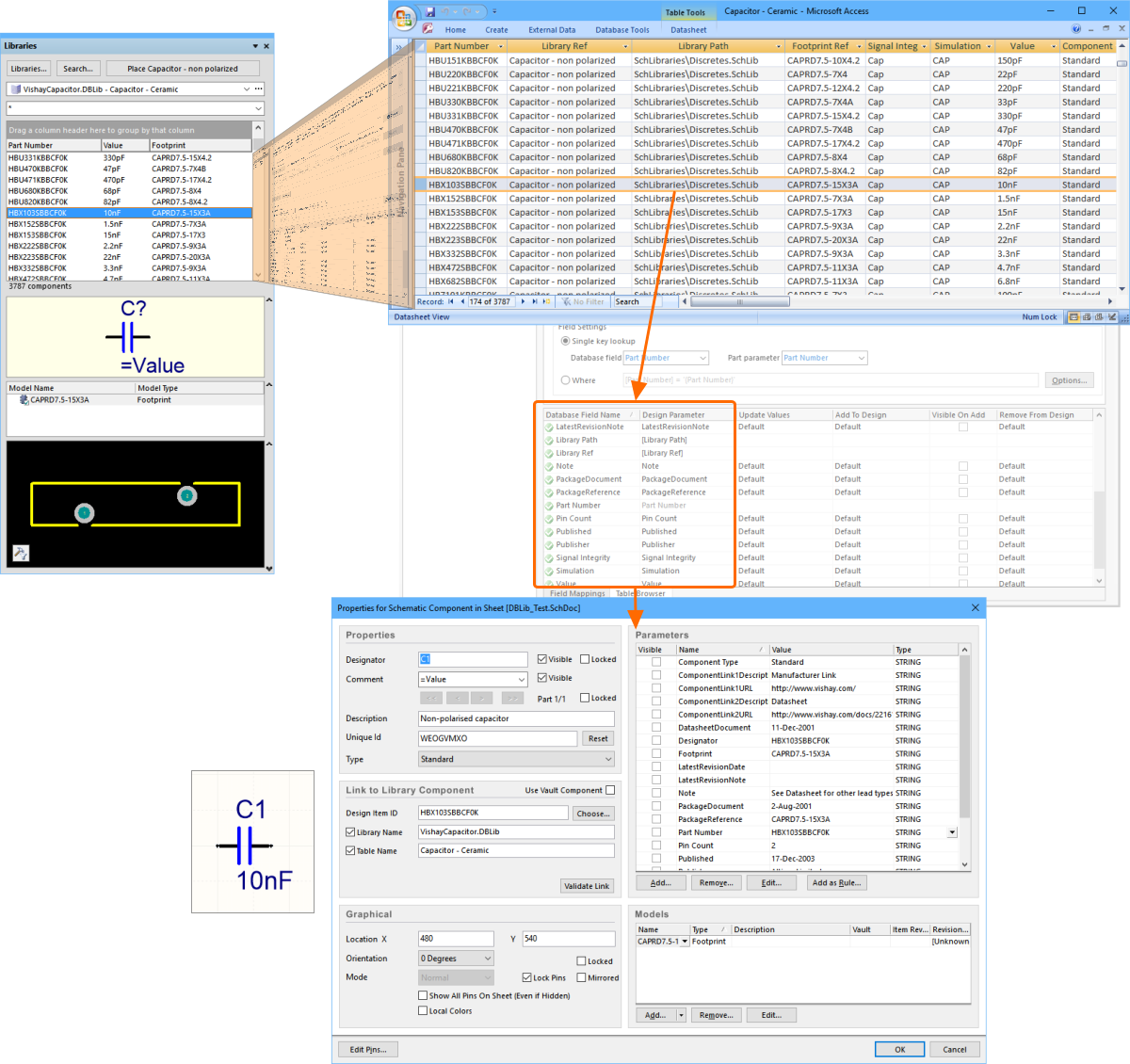 Understanding Models Components And Libraries Online Okay Let39s Add Current Limiting Circuit To Our Intermediate Op Amp The Dblib Maps Database Data Into Panel Is Also Used Map Chosen Record Component Parameters During Placement